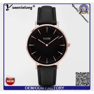Yxl-752 Fashion Cow Leather Bracelet Watches Women Wrap Winding Ladies Women′s Vintage Wrist Watch