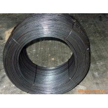 Alambre puro del hierro eléctrico del balck de la fuente de la fabricación