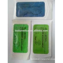 Suture chirurgicale vicryl absorbable à bas prix des bonnes ventes