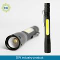LED+COB Aluminium Pen Light
