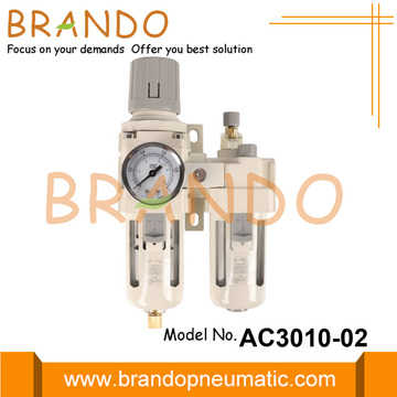 AC3010-02 Pelumas Regulator Filter FRL Udara Tipe SMC