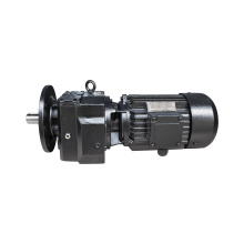 REDSUN R27 Series  helical speed reducers gearbox with 0.18~3KW AC motor