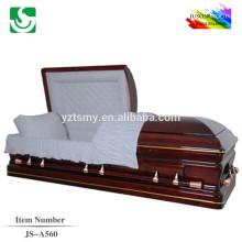 fabricantes de caixão melhores preço china caixão de madeira de mogno