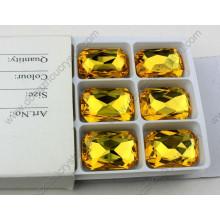 Perles de cristal d'octogone sans plomb de prix usine pour la décoration de bijoux