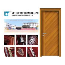 Porte en bois massif (LTS-109) Fabriqué en Chine