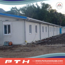China Low Cost Prefabricated Container House as Modular Apartment Building
