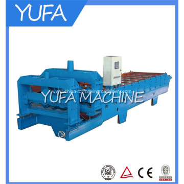 NO.1 quality Hydraulic glazed steel tile roll forming machine