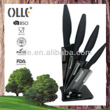 Acrylic Support High Quality Kitchen Knife Set