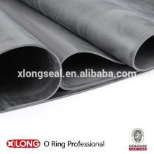 China manufacturing black rubber sheet rolls