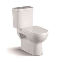 065A Two Piece Ceramic Toilet with Slow Down PP Closet Cover