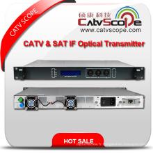 Fournisseur Professionnel Haute Performance 1u CATV & Sat Si Transmetteur Optique