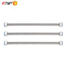 B17 4 13 mangueira de gás flexível de aço inoxidável mangueira de gás natural mangueira de conector de gás