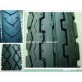 Frente de moto pneus pneumáticos