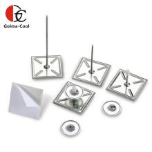 Goupilles auto-adhésives de rondelles autobloquantes d'alliage d'aluminium
