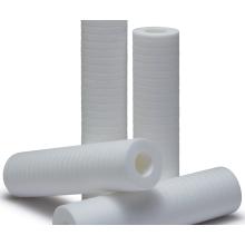 Cartuchos de filtro de ranura adherida térmicamente PP