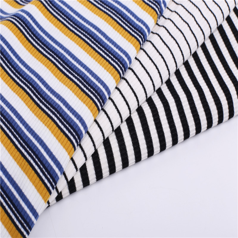 Customized Rib Knitting Coarse Needle Fabric For Ladies (2)