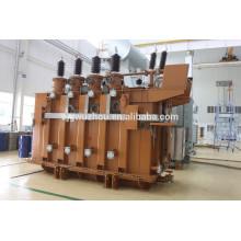 Transformateur électrique triphasé 50MVA 132KV en Chine
