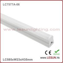9W de alta qualidade nenhuma luz LC7577A-06 do tubo do diodo emissor de luz da área escura T5