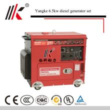 8KVA / 7KW SMALL SILENT TYP DIESEL GENERATOR SOUNDPROF KDF8500 MIT ELEKTRISCHEN START (CE EPA CSA)