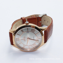 Women Leather Quartz Watch