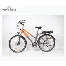 Hot sale best Chinese manufacturing green power city electric bike 2017
