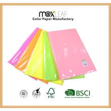 Papel de impressão com foto em offset de cores coloridas com cores de 5 cores