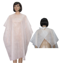 Safe Cape Barber Cap Disposable Breathable Polypropylene Cape Set for Salons, Barbers and Hair Cutting