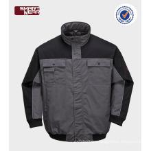 waterproof & breathable pilot jacket mens winter bomber jacket safety workwear jacket