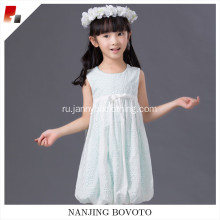 girls eyelet cotton fabric dress for toddler