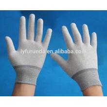 Gants en nylon de calibre 13, gant de travail sans poussière