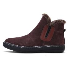Мужские ботинки на открытом воздухе кроссовки на молнии сбоку