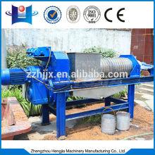 Cheap small screw press dewatering machine supplier