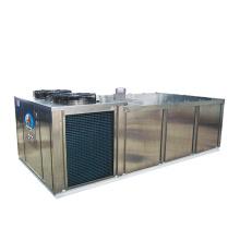 Commercial block ice freezer
