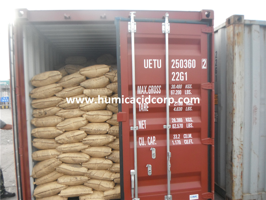 potassium humate with kraft paper bag