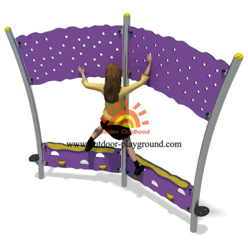 Panel de pared Kids Climber Playground Equipment