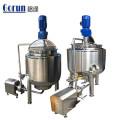 Cuve de mélange en acier inoxydable pour préparation liquide pharmaceutique qualifiée Gmp