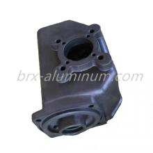 Hard anodized aluminum part of communication equipment