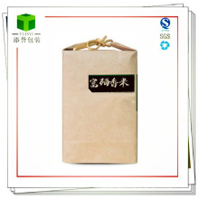Customized Kraft Paper Bag for Rice