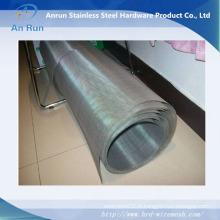 Tissu en tôle galvanisée en fil métallique carré (grande usine)