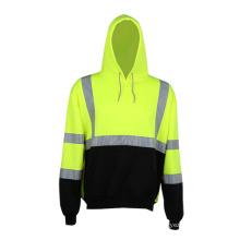 Sweats à capuche sport imprimés personnalisés à haute sécurité réfléchissante