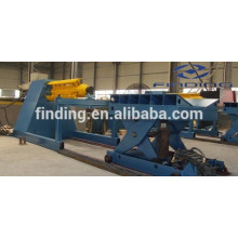 low cost Automatic hydraulic steel uncoiler for rolling machine