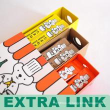 Günstige frische CMYK Farbe gedruckt matt Laminierung Kind Bleistift Schublade Paket