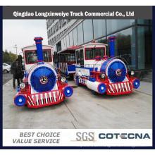 China Production Amusement Park Electric Tourist Train for Sale