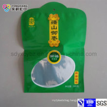Plastic Packaging Shaped Bag with Clear Window