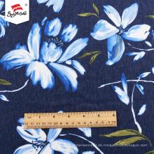 Individuell bedrucktes Großhandelskleid aus Polyestergewebe