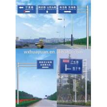 Poste de signalisation routière