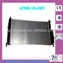 Ano 2009 Mazda radiador de alumínio, radiador de arrefecimento do motor para mazda 3 LF8B-15-20Y