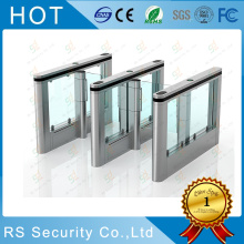 Nhà nước kép Passage Glass Turnstile Card Collector
