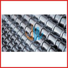 Bimetallic extruder single screw barrel/tungsten carbide screw barrel