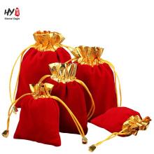 Новый дизайн мягкий подарок мешок бархата